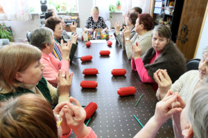 Day of Health in Center of social services for pensioners